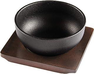 ビビンバ鍋 17cm ビビンバ器 鋳物鍋 専用木台付き IH対応 KIPROSTAR(キプロスター)