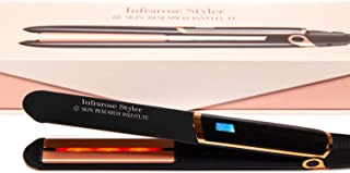 Sponsored Ad - Skin Research Institute Infrarose Styler Flat Iron - One Pass Straightening - Tourmaline and Ceramic Plates...