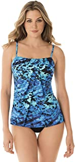 Women's Swimwear Turning Point Jubilee Flyaway Front Tankini Bathing Suit Top