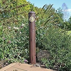 """Wasserzapfstelle WZS1 von CLGarden Wasserzapfsäule im Retro Look für Ihren Garten Inkl. gratis Wasserhahn mit ¾"""" AG Anschluss Garten Wasser Zapfsäule mit einer Höhe von circa 90cm"""