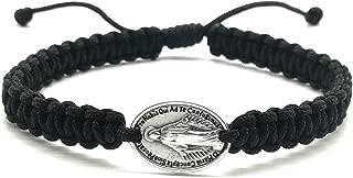 Catholic Saint Mary Bracelet/Miraculous Medal/Adjustable Bracelet Handmade in Medjugorje