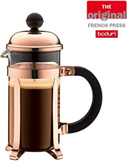 Bodum Chambord French Press Coffee Maker, 3 Cup, 0.35L Capacity, Copper
