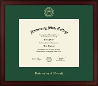 university of hawaii diploma frame