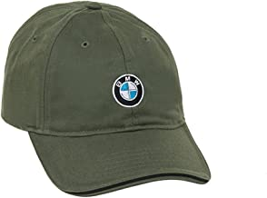 BMW Recycled Brushed Twill Cap - Olive