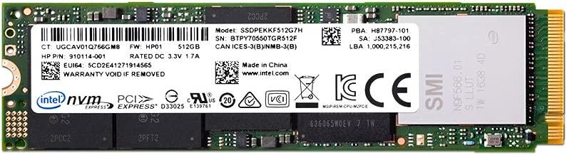 Intel SSD Pro 6000p Series 512GB, M.2 80mm PCIe 3.0 x4, 3D1, TLC, AES 256 bit SED
