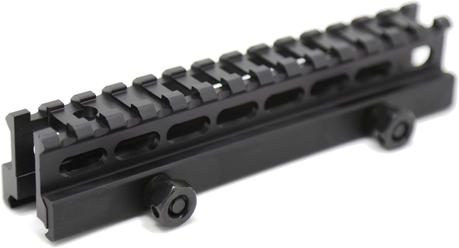 TXTactical Direct stock discount 1 Inch High Credence 14-slot Rail Weight Light Riser Picatinny