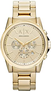 Best armani exchange gold watch mens Reviews