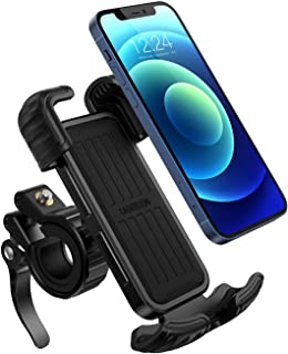 UGREEN Bike Phone Holder, Bicycle Motorcycle Phone Stand Stainless Mount 360 Rotation on Stroller, Compatible for 4.7-6.8 ...