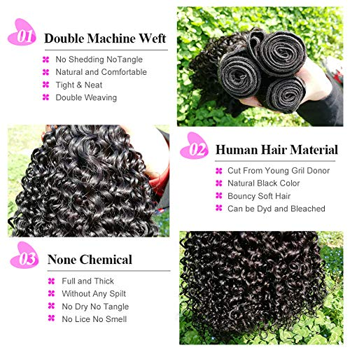 10 inch curly weave _image3