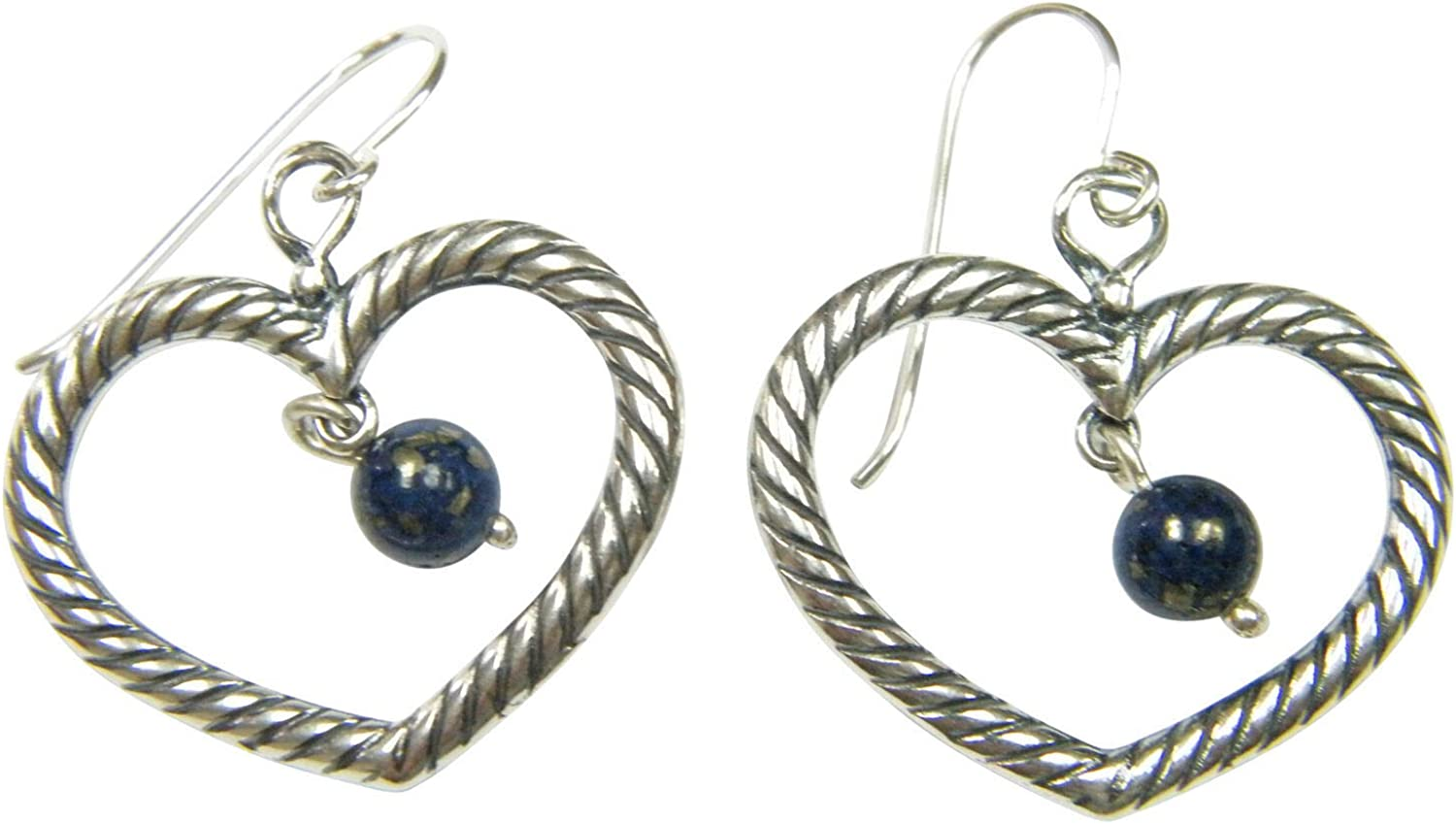 SHABLOOL Earrings 925 Sterling Silver With Beads Lapis Blue In a popularity Gems 2021new shipping free