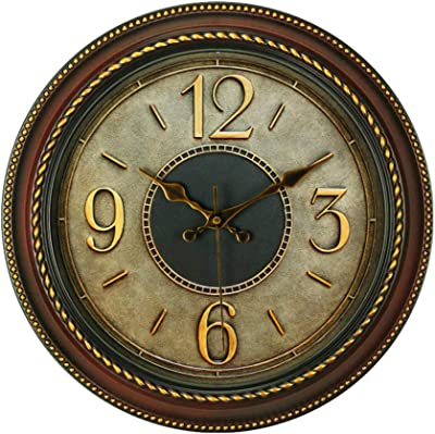 Vintage Wall Clock/Personalized Garden Wall Clock/Battery-Powered, Suitable for Living