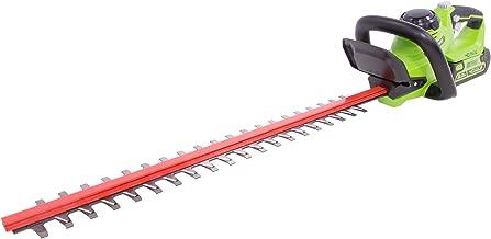 Greenworks HT40B00 24-Inch 40V Cordless Hedge Trimmer, Tool