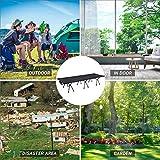 KingCamp Campingbett Feltbett mit Tragetasche, Ultraleichtes und leichtes Bett bis150kg für Camping Outdoor Reisen - 7
