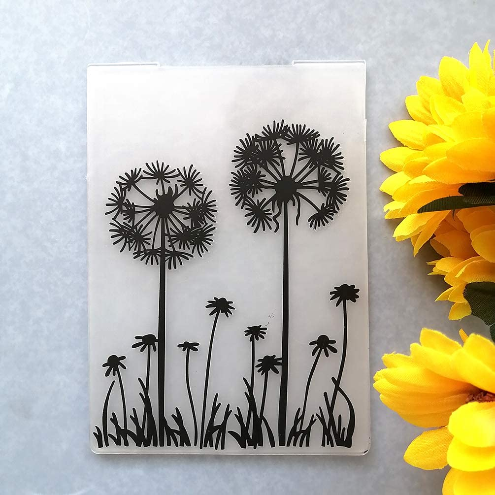 GAWEI Credence Dandelion Embossing Folders for Special price a limited time DIY Card and Making Scrapb