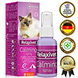 Relaxivet Natural Calming Spray for Cats and Dogs with a Long-Lasting Calming Effect - #1 Spray for...