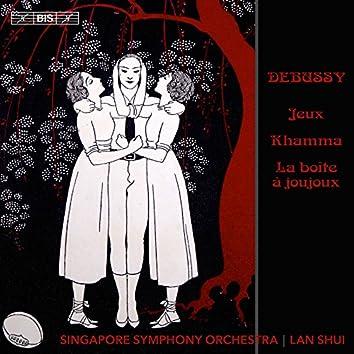 Debussy: Jeux, Khamma & La boîte à joujoux