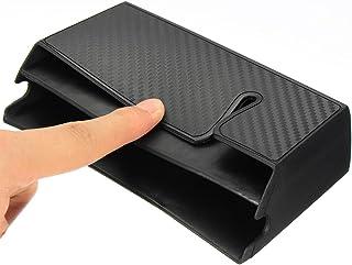 XinXinFeiEr XUAN1218 - Soporte organizador para tarjetas de teléfono (fibra de carbono)