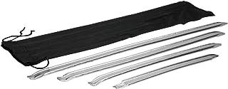 ECD Germany Reifen Montiereisen Set 4 tlg. | 30.5 40.5   51 61 cm | aus Stahl | Montierhebel Montagehebel Hebelwerkzeuge Reifenmontage