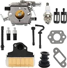 Hayskill MS230 MS250 Carburetor with Air Filter Tune Up Kit for Stihl 021 023 025 MS210 MS230 MS250 Carb Chainsaw Replace WT-286 WT-215 C1Q-S11E C1Q-S11G 1123-120-0605