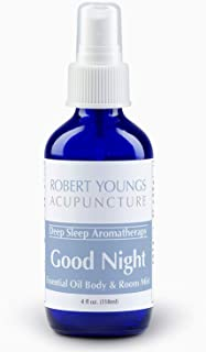 Deep Sleep Lavender & Chamomile Essential Oil Spray Blend | Best Sprayable Aromatherapy Remedy to Help You Relax & Fall As...