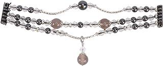 NICERIO Compatible pour Les Bracelets Fitbit Versa - Bling Bijoux Bracelet de Montre Agate Smartwatch Bracelet Montre Brac...