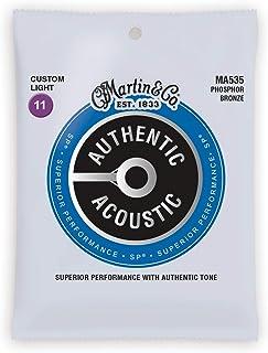 Cuerdas para guitarra acústica Martin Strings, Luz CSTM, Cu