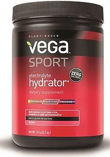 Vega Sport Electrolyte Hydrator Berry (5.2oz tub, 40 Servings) - Electrolyte Powder, Keto-Friendly, Gluten Free, Non Dairy, Vegan, Sugar Free, Keto Friendly, Non GMO