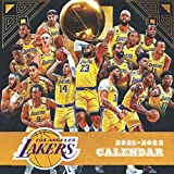 Los Angeles Lakers Calendar 2021-2022: 18-month Grid Mini Sport Calendar for all fans!!!