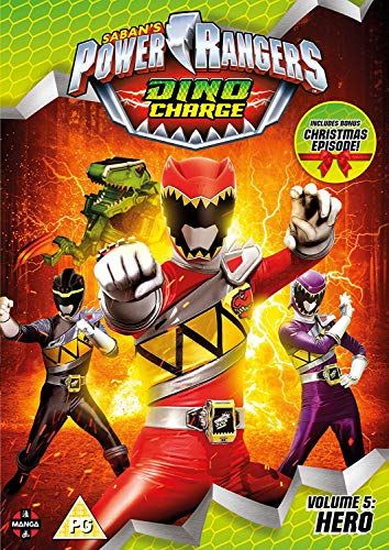 Power Rangers Dino Charge: Hero (Volume 5) Episodes 18-22 (Incl. Christmas Special) [UK Import]