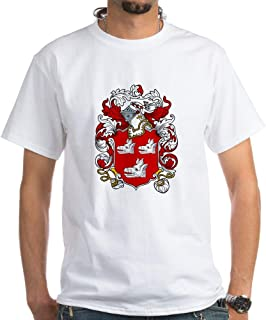 CafePress Everett Coat of Arms White T Shirt Cotton T-Shirt