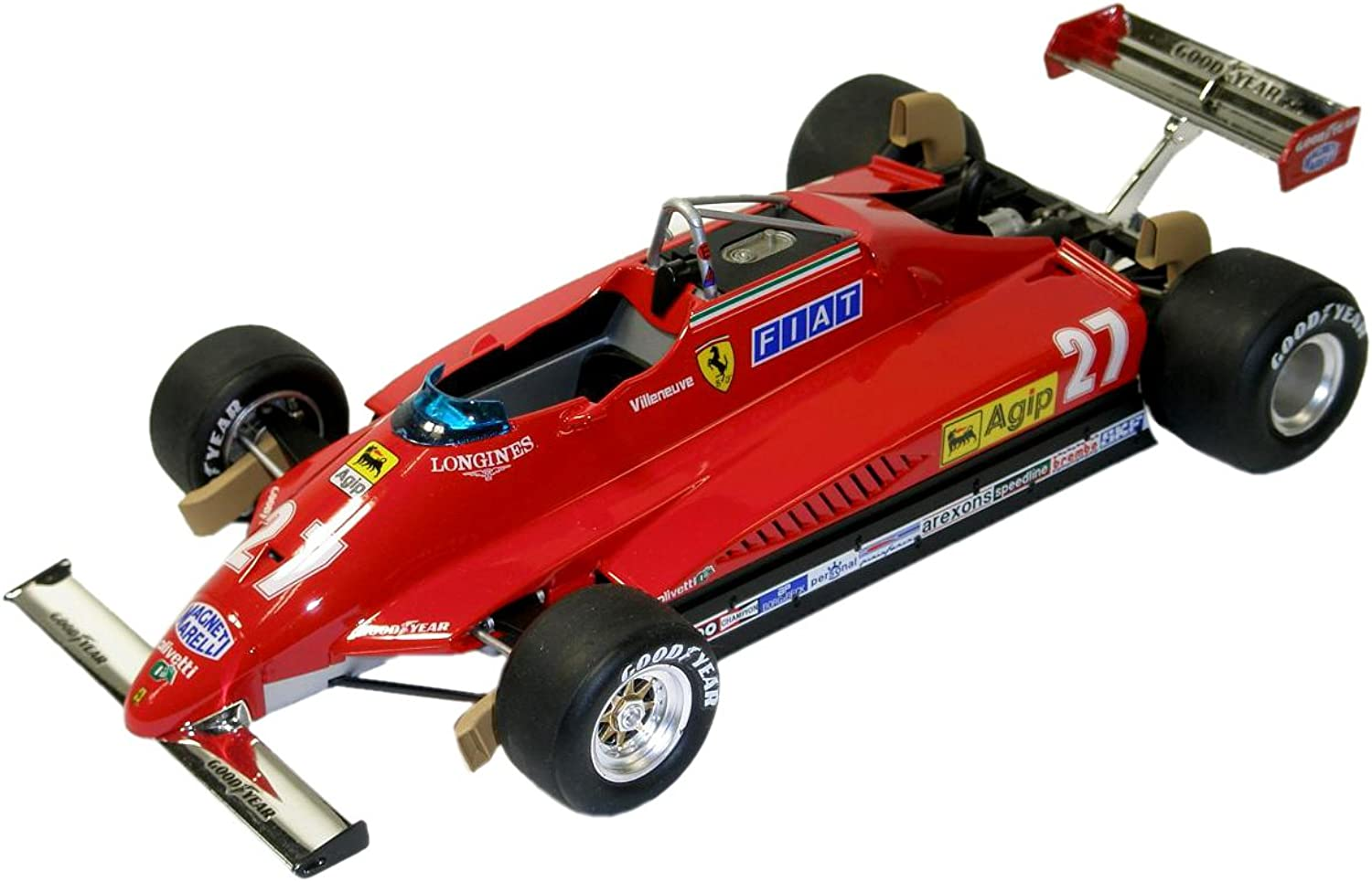 Fujimi 1 20 Scale Ferrari 126C2 1982 Long Beach GP
