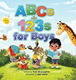 ABCs and 123s for Boys: A fun story time and bedtime alphabet and counting book for preschoolers (1)