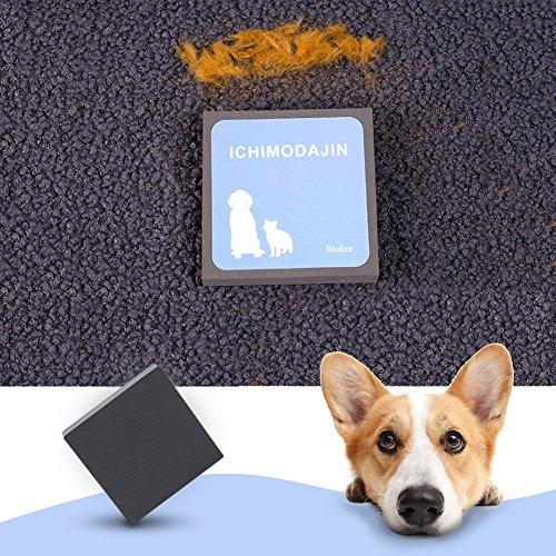 Pet Bürste Haustiere Fur Reinigungsbürste - Hair Remover Bürste zum Entfernen von Tierhaare von Tiersitzen, Möbel, Couch, Bett, Teppich, perfekt für Hunde und Katzen mit langen und kurzen Fell