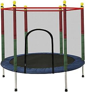 LKFSNGB Mini trampolín para niños, trampolín de jardín