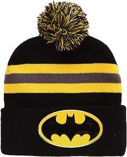 Amazon.com  Superheroes Novelty Beanies   Knit Hats 835e19c1e3d1