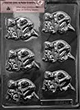 LOVING COUPLES Adult Chocolate Candy Mold with Copyrighted Molding Instructions -SET OF 2