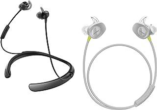 Bose Bluetooth Bundle–soundsport de auricular inalámbrico Citron & quietcontrol 30Negro Auriculares in-ear