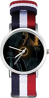 Lord Rings Hobbit reloj de ocio para adultos, moderno, hermoso y personalizado aleación Shell casual reloj deportivo para ...