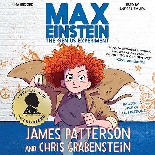 Max Einstein: The Genius Experiment audiobook cover art