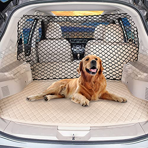 LPY-Pet Net Vehicle Safety Mesh Dog Barrier SUV/Car/Truck/Van - Fits Behind Front Seats