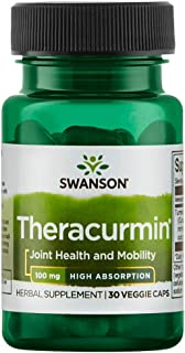 Swanson High Absorption Theracurmin 100 Milligrams 30 Veg Capsules