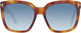 Sunglasses Tom Ford AMARRA TF 502 FT 53W blonde havana / gradient blue