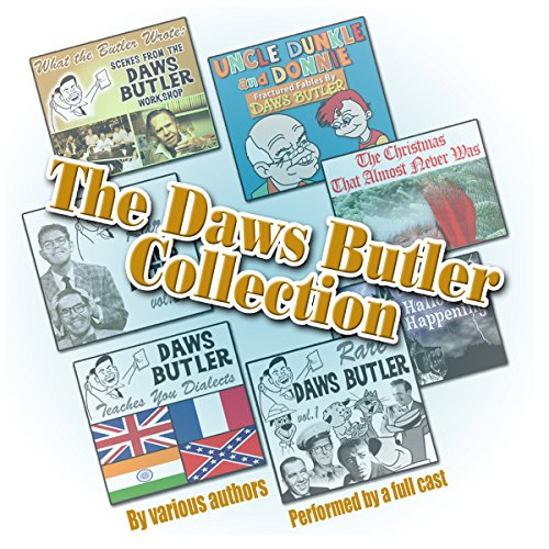 The Daws Butler Collection audiobook cover art