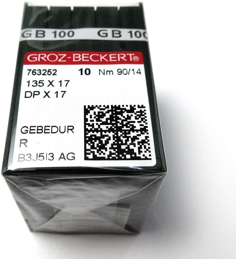 100 Pcs Groz-Beckert Gebedur 135X17 Dpx17 Titanium Sewing Machin