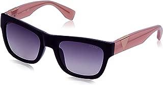 Guess Women's Fashion Sun GU 7440 01B Sunglasses, Purple, 54 mm