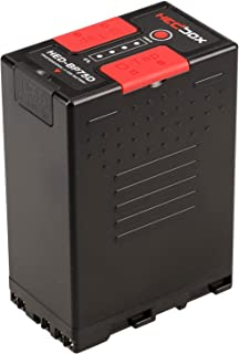 HEDBOX   HED-BP75D   Li-Ion Battery 75Wh / 5200mAh with Dual D-Tap & USB Out, Compatible for Sony BPU, BP-U30, BP-U60, BP-U90, and PMW-200/300, PMW- EX1/ EX3, F3, and PXW- Z280, FS5, FS7, Camcorders
