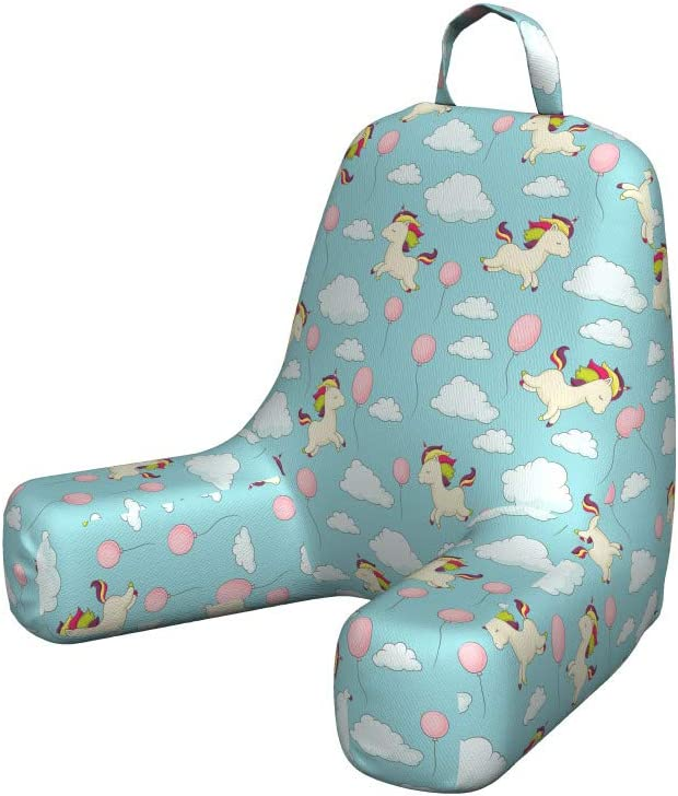 Ambesonne Cartoon Baby Reading Cushion Pocket Unicorn outlet Price reduction Back with