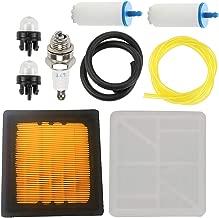 Allong 525470601 574362302 Air Filter Fuel Line/Filter for Husqvarna K760 Concrete Cut Off Saw Power Cutter 574362301 506264101