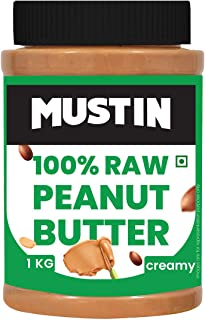 Mustin All Natural Peanut Butter Creamy-1kg