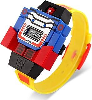 smartwatch, Orologio elettronico infantile creativo, tavolo da giocattolo smontabile di Superman, Orologio iinteligente uo...